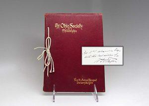 William H Taft - The Ohio Society of Philadelphia