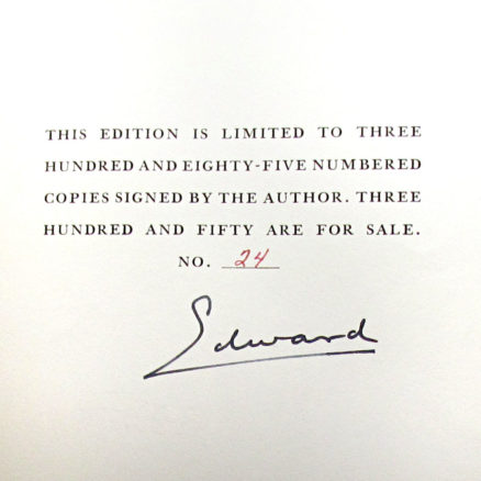 A King's Story   Signed/numbered
