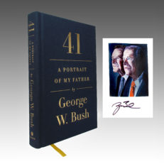 41 | A Portrait of my Father | George W. Bush | Cover and signature