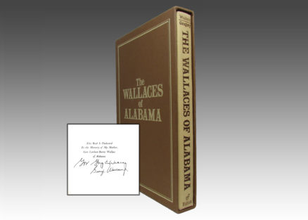 The Wallaces Of Alabama - Cover and signature