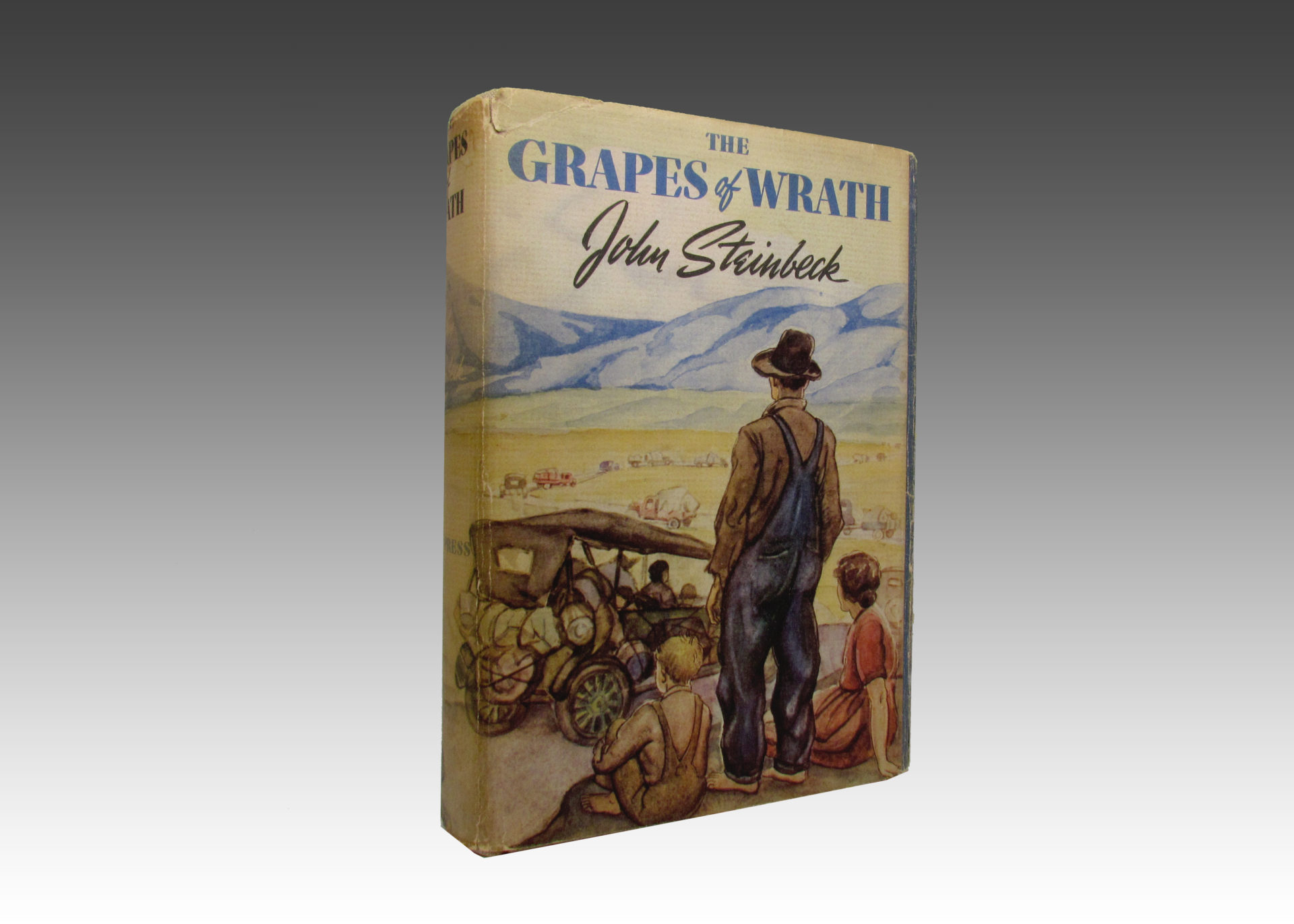 the downfall of a family in the grapes of wrath by john steinbeck This literary analysis of john steinbeck's the grapes of wrath explores how the author attains closure at the end of the novel  steinbeck creates a family with strengths and flaws this mixture ennobles the joads ultimately, it is kindness, the family's greatest strength, which becomes a detrimental weakness  the author's portrayal.