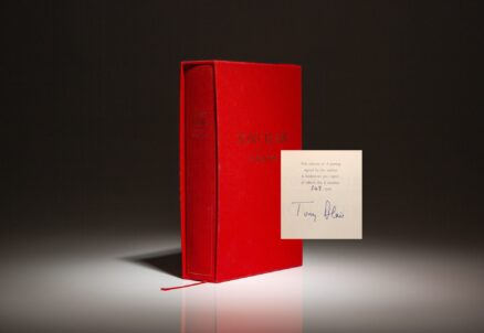 Limited edition of A Journey by British Prime Minister Tony Blair.