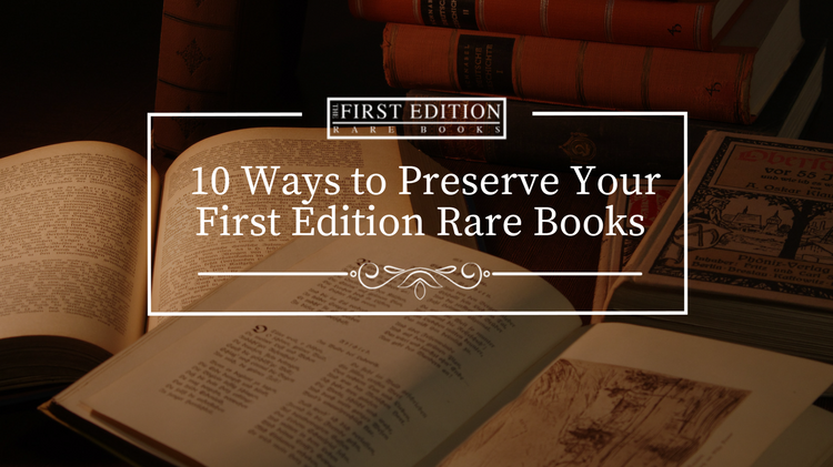 How to Care for Valuable Books