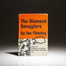 First edition of The Diamond Smugglers by Ian Fleming.