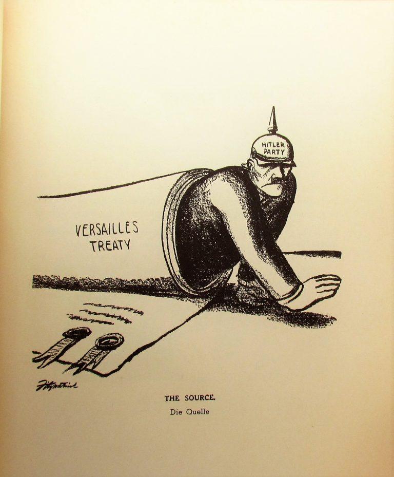 Hitler in der Karikatur - Tat gegen Tinte - The First