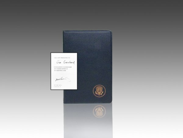 Profiles in Courage by John F. Kennedy. Limited inaugural edition.