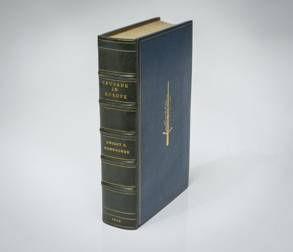 Crusade in Europe by Dwight Eisenhower. Signed limited edition in deluxe binding.