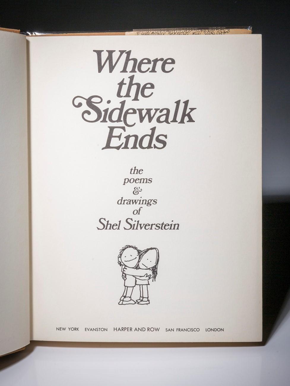 shel silverstein where the sidewalk ends - HD977×1301