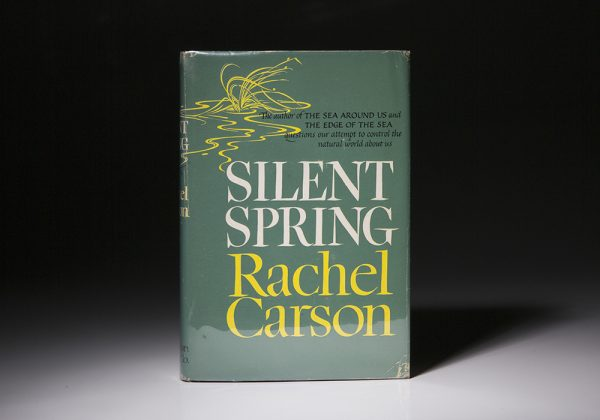 First edition of Silent Spring by Rachel Carson.
