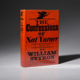 First edition of The Confession of Nat Turner, signed by William Styron.