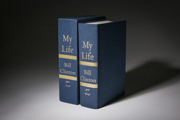 Limited edition of My Life by President Clinton.