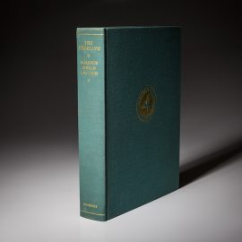 Signed limited edition of The Yearling by Marjorie Kinnan Rawlings.