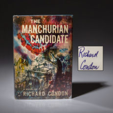 First edition of The Manchurian Candidate, signed by Richard Condon, in first issue dust jacket.