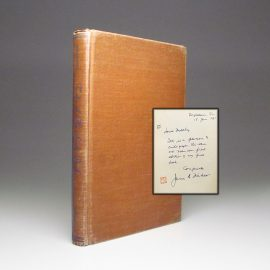 Tales of the Sout Pacific by James Michener, signed first edition.
