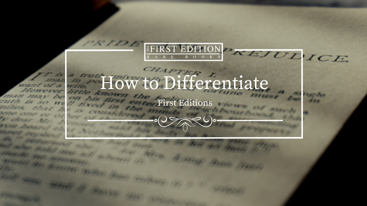 how to differentiate first editions