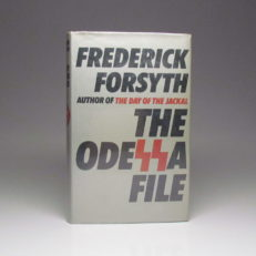 First edition of The Odessa File by Frederick Forsyth, in a near fine dust jacket.