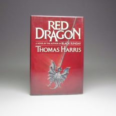 First edition of Red Dragon by Thomas Harris.