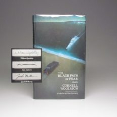 Limited edition of The Black Path of Fear by Cornell Woolrich, signed by the author.