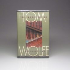 First edition of The Bonfires Of The Vanities by Tom Wolfe, a first edition in dust jacket.