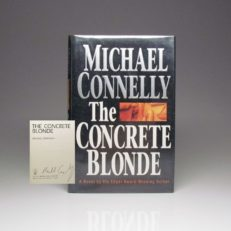 First edition of The Concrete Blond, signed by Michael Connelly, in a fine dust jacket