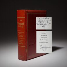 The Vantage Point by President Lyndon Johnson. Limited edition signed copy.