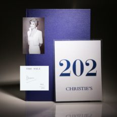 Dresses From the Collection of Diana, Princess of Wales. A rare edition, from a charity auction.
