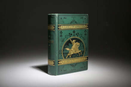 A first edition of General A. Custer.