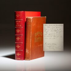 Sketches by Mark Twain, signed by Mark Twain.