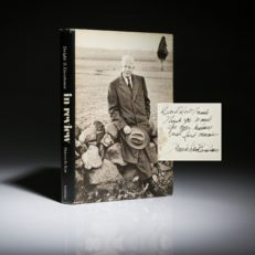 """Pictures I've Kept, a Concise """"Autobiography"""" signed by author Dwight Eisenhower."""
