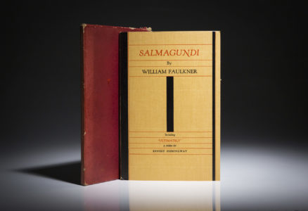 Salmagundi, by Ernest Hemingway. A limited edition, once owned by Frank Sinatra.