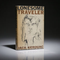 First edition of Lonesome Traveler, by Jack Kerouac.