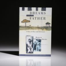 Dreams From My Father by Barack Obama. An excellent first edition copy.