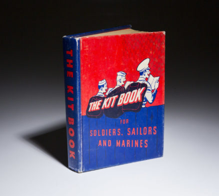The Kit Book for Soldiers Sailors and Marines. by JD Barrows, featuring JD Salinger.