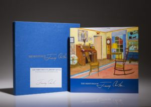 The Paintings of Jimmy Carter, the scarce limited edition signed by President Carter.