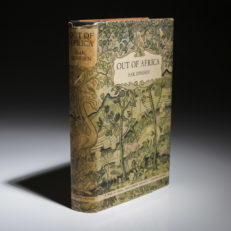 Out of Africa by Isak Dinesen. First edition.