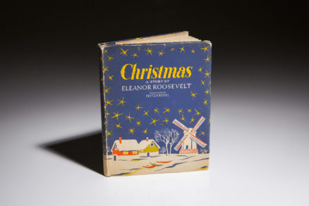 Christmas A Story by Eleanor Roosevelt, first edition.