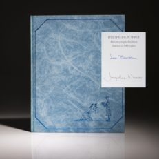 One Special Summer by Jackie Kennedy Bouvier and Lee Radzwill. Signed limited edition copy.