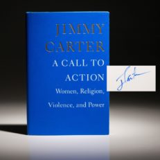 A Call to Action by Jimmy Carter. Signed first edition, first printing.