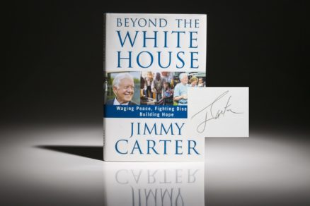 Beyond the White House by President Jimmy Carter. Signed first edition, first printing of Beyond the White House by Jimmy Carter.