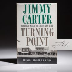 Turning Point by President Jimmy Carter. Signed first edition, first printing of Turning Point by President Jimmy Carter.