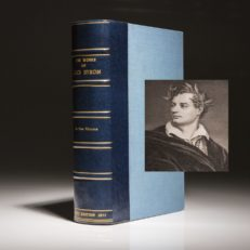 The Complete Works of Lord Byron from the personal collection of Frank Sinatra.