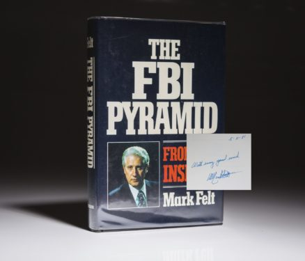 The FBI Pyramid by Mark Felt. A signed and inscribed edition.