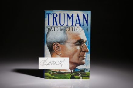 Truman by David McCullough, signed first edition, first printing.