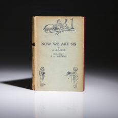 Now We Are Six by AA Milne. First edition.