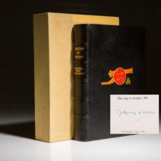 A History of Warfare by Sir Montgomery of Alamein. Signed limited edition.