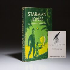Starman Jones by Robert Heinlein, first edition.