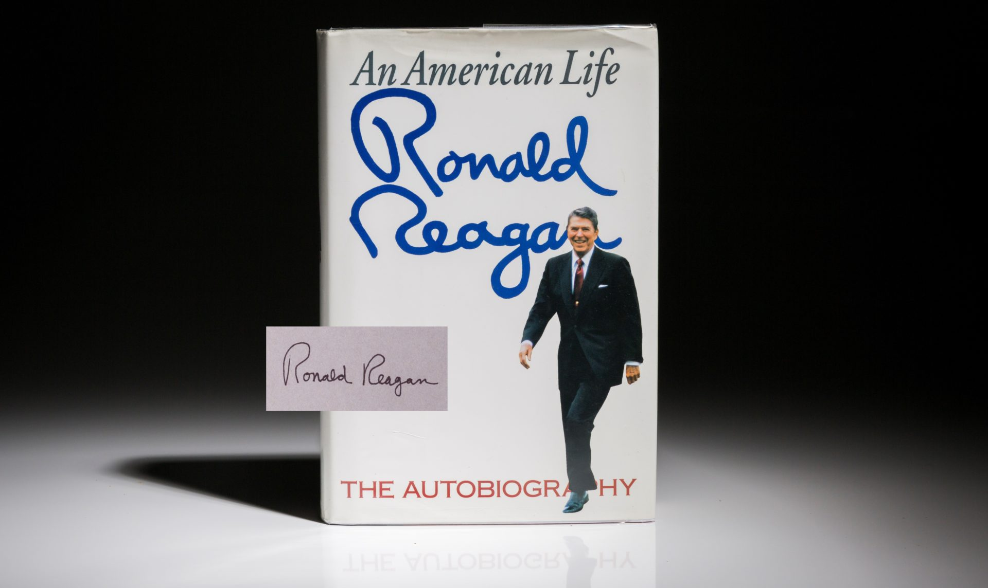 An American Life by President Ronald Reagan.