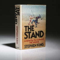 First edition of Stephen King's The Stand, first edition, first printing.