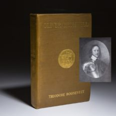 Oliver Cromwell by Theodore Roosevelt, first edition.