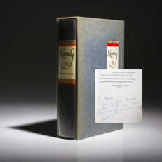 Kennedy by Theodore Sorensen, signed limited edition.